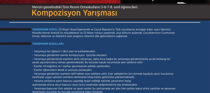 Atatürk Ve Ulusal Egemenlik Kompozisyon Yarışması Sonuçları
